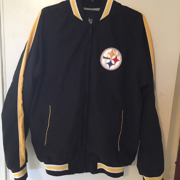 official photos c822a ab30d Men's NFL Pittsburgh Steelers jacket size M